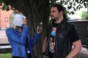 Corey Beaulieu från Trivium diskuterar kommande albumet på Getaway Rock Festival