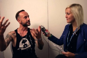 Intervju med Behemoths Nergal på Getaway Rock Festival