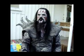 Intervju med Mr Lordi på Skogsröjet